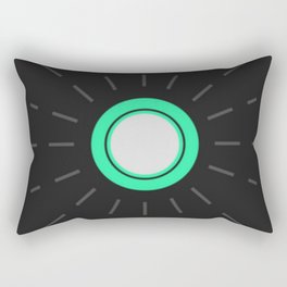 Out of the Loop Rectangular Pillow