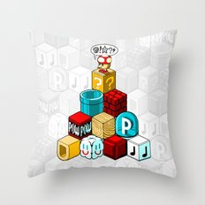 Q*BISM Throw Pillow
