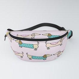 Cute dachshunds Fanny Pack