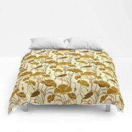 Sunfield Poppies Comforters