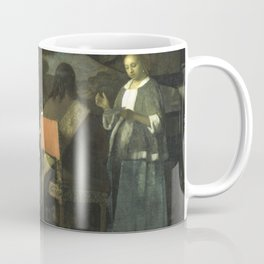 Stolen Art - The Concert by Johannes Vermeer Coffee Mug