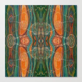 Lively Synapses (Amplified Current) (Reflection) Canvas Print