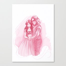 Rumbelle- The ship has sailed Canvas Print