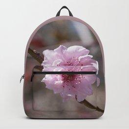 Peach Flower Backpack