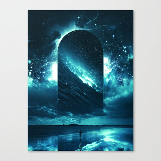 Cosmic Storm Canvas Print