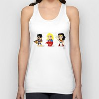 girl power Tank Tops featuring Girl Power by Nate Kelly