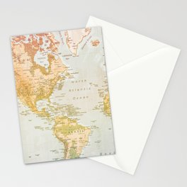 Pastel World Stationery Cards