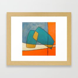 The Abstract Daily Art Print #4 Framed Art Print