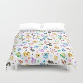 Cuties In The Stars Duvet Cover