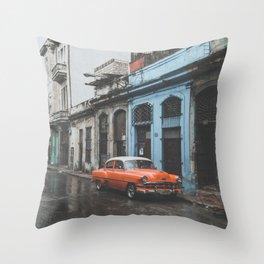 Havana V Throw Pillow