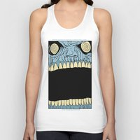 mouth Tank Tops featuring Mouth by Hobo&Arrow