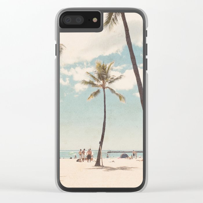Waikiki Clear iPhone Case