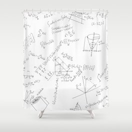 As Calculus Goes to Infinity... Shower Curtain