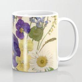 Pansy Garden Coffee Mug