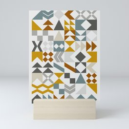 Mid West Geometric 05 Mini Art Print