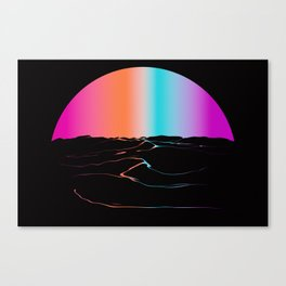 Cotton Sun Canvas Print
