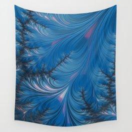 Winter Dusk - Fractal Art Wall Tapestry