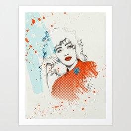 MONICA Art Print