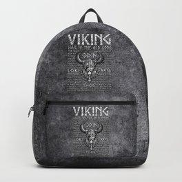 Viking Mythology Design Hail To The Old Gods Backpack