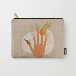 The Hand of Nature Carry-All Pouch