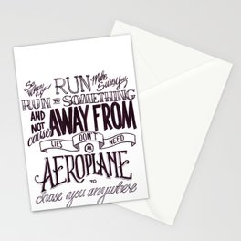 Weight of Lies Stationery Cards