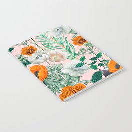 Wildflowers #pattern #illustration Notebook