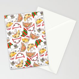 """""""Oro?"""" Christmas Series Stationery Cards"""