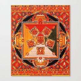 Mandala Buddhist 10 Canvas Print