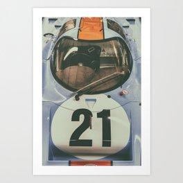 Porsche 917 III Art Print