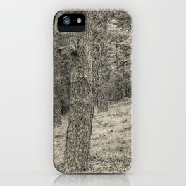 In the forest #3 iPhone Case
