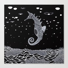 The Sea Horse Canvas Print