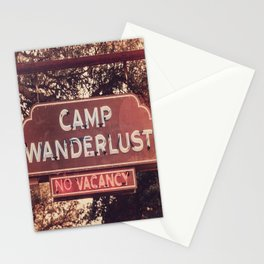 Camp Wanderlust x Travel Wall Art Stationery Cards