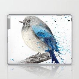Round and Happy Bird Laptop & iPad Skin