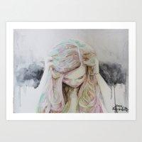 Affectations Art Print