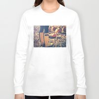 fall Long Sleeve T-shirts featuring Fall by Kurt Rahn