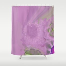 Orchiodynia Naked Flowers  ID:16165-011345-35260 Shower Curtain