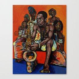 2018 Ransome Fela Kuti art by Marcellous Lovelace Canvas Print