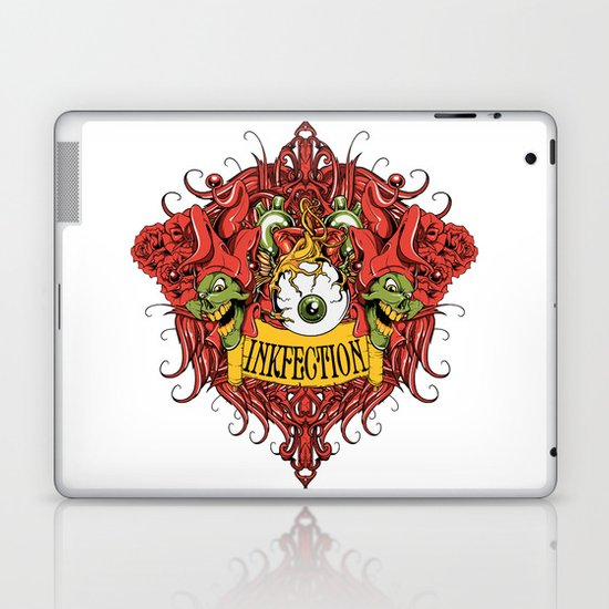 Inkfection joker Laptop & iPad Skin