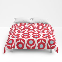 Joy collection - Red flowers Comforters