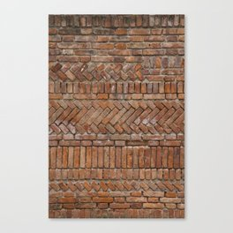 Beautiful Brick Wall Canvas Print