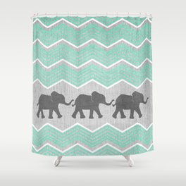 Chevron Shower Curtains Society6