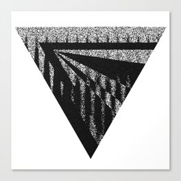 Discardable Triangle Canvas Print