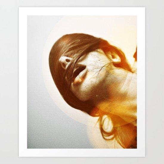 la femme phoenix Art Print