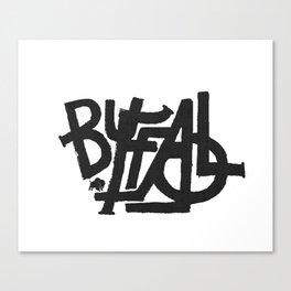 BRAND NAME Canvas Print