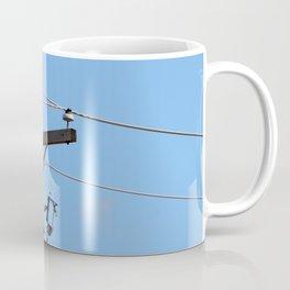 Red Tailed Hawk on Telephone Pole 3 Coffee Mug