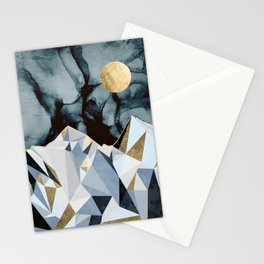 Midnight Peaks Stationery Cards