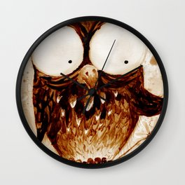 Frappe' Wall Clock