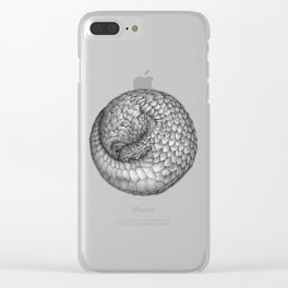 The Infinite Pangolin Clear iPhone Case