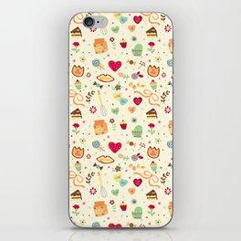 Cake Pattern iPhone Skin