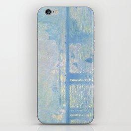 1899-Claude Monet-Charing Cross Bridge-65 x 80 iPhone Skin